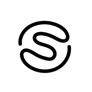 digitally tracing the logo