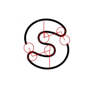adding symmetry to the new SuperLaces logo